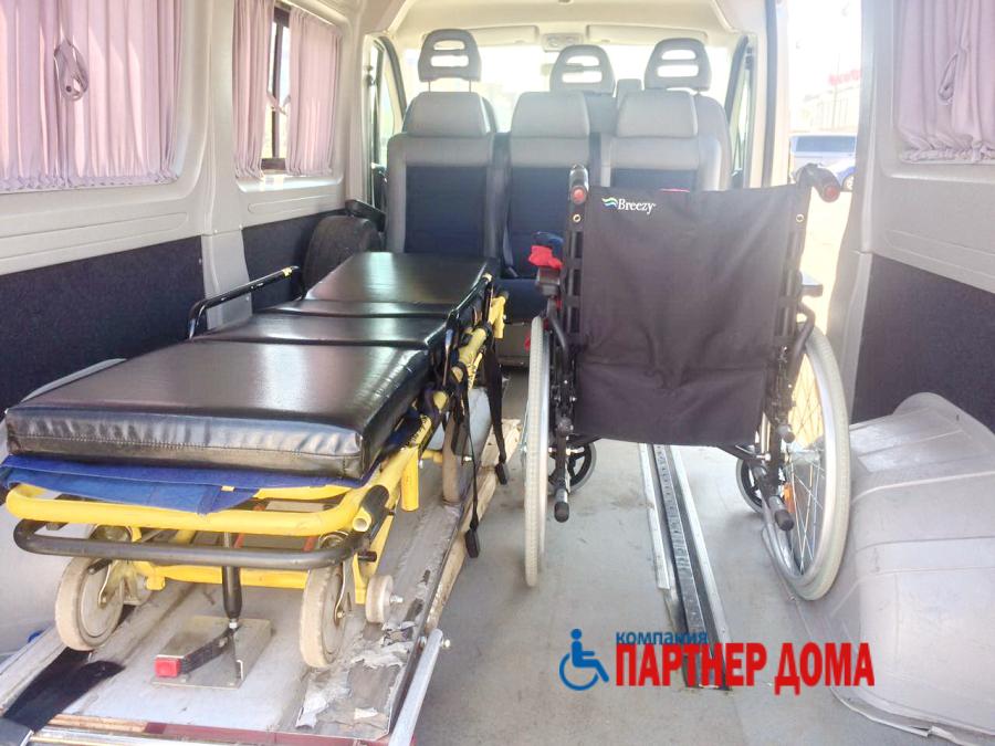 перевозка больных в Казани