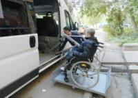 Погрузка в авто на кресле коляске